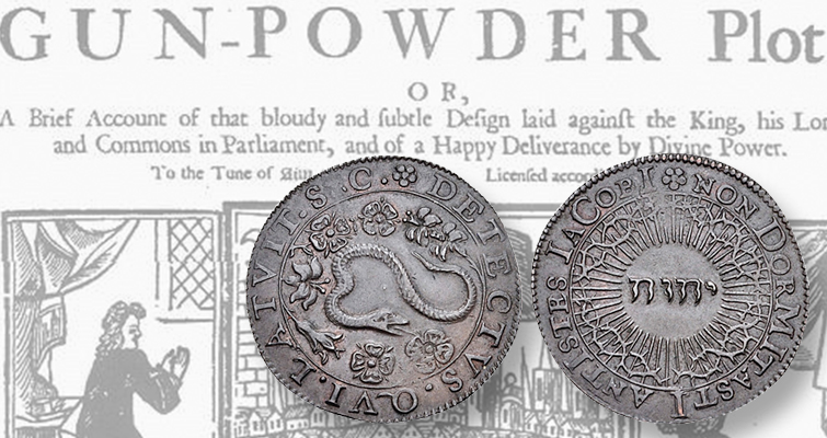Bronze Jeton Marks Disruption Of 1605 Gunpowder Plot