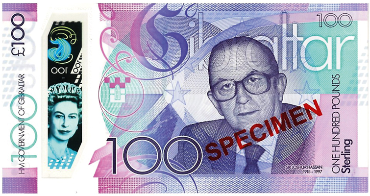 2015 centennial to be belatedly marked by a £100 note from Gibraltar