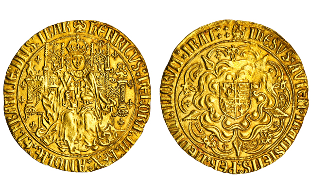 henry-vii-gold-sovereign-lot-540