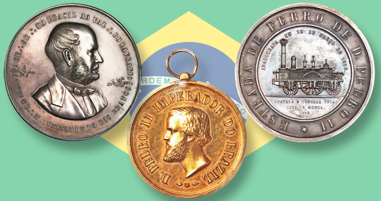 Collection of Brazilian medals in Heritage's Long Beach sale