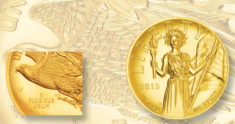 Top 10 Stories of 2015: American Liberty gold $100 coin sales