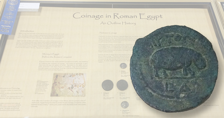 Roman Egypt coin exhibit takes Best-of-Show at Central States convention