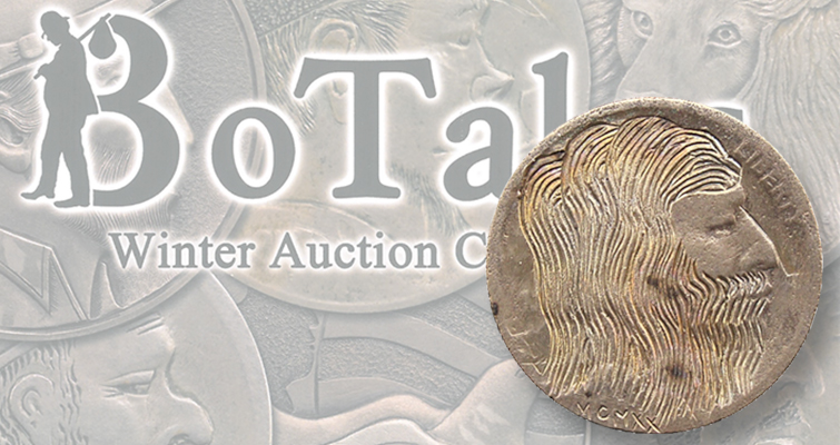 Hobo nickels auction lead