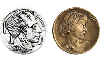 Modern carvers adding to hobo nickel legacy with new artwork