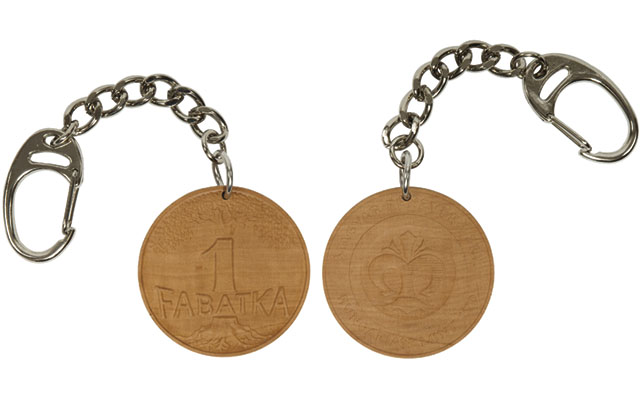 hungarian-mint-keychain-wooden-medal