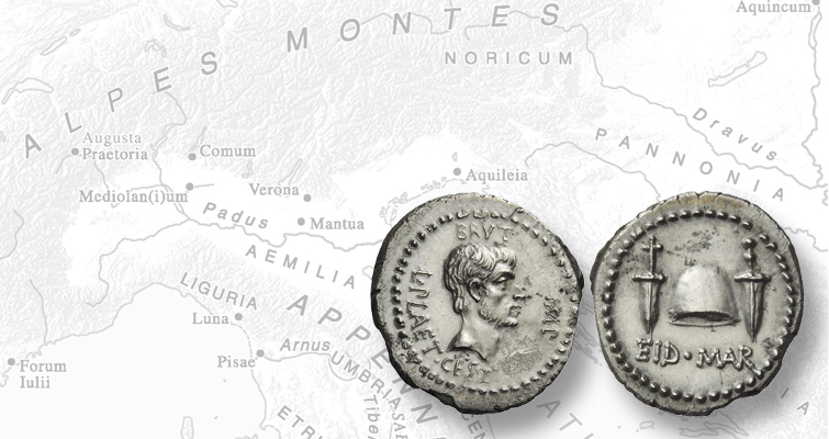 'Eid Mar' denarius of Brutus