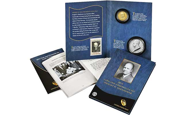 Repeat performance: Dwight D. Eisenhower Coin and Chronicles set sells out in 15 minutes