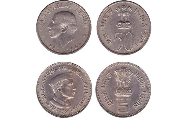indian-coins-nehru