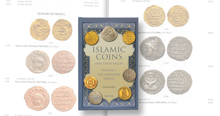 Spink publishes medieval period Islamic coin research book by Tim Wilkes