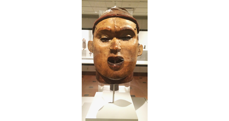 David Owsley Museum of Art African Janus mask female face