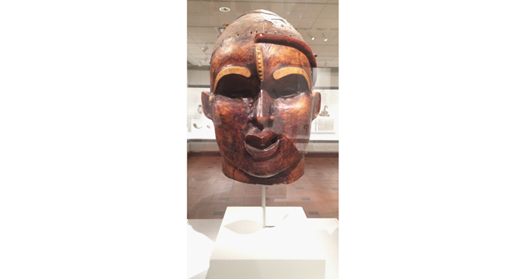 David Owsley Museum of Art African Janus mask male face