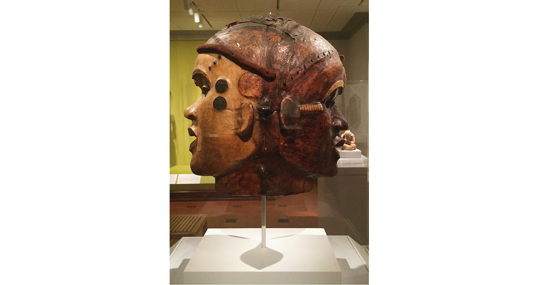 David Owsley Museum of Art African Janus mask side