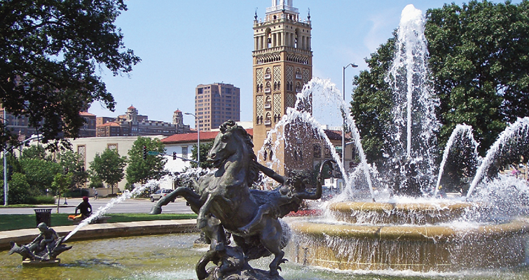 Kansas City, Mo., fountain