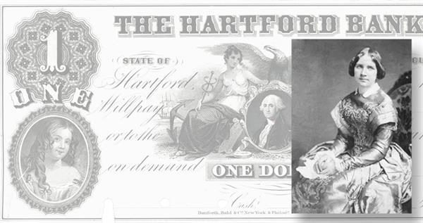 jenny-lind-1-dollar-note-hartford-bank-conn