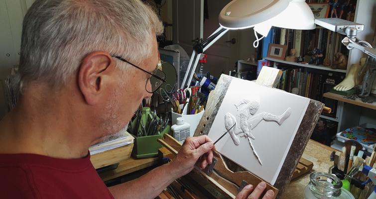 john-mercanti-sculpting-spider-man