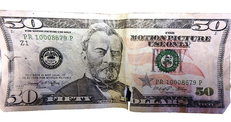Movie prop money keeps being discovered in circulation, with notes now passed in Alaska
