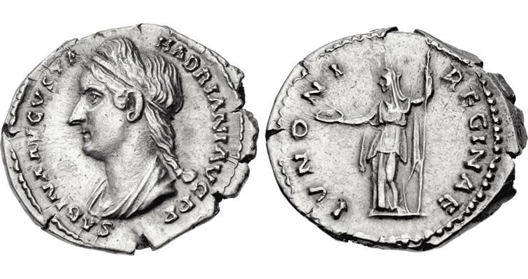 juno-silver-denarius-empress-sabina