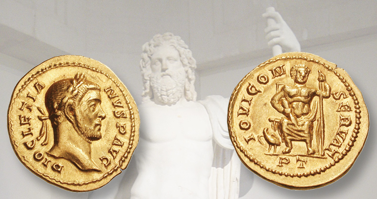 Rome's top gods, the Capitoline triad, on coinage: Ancients Today