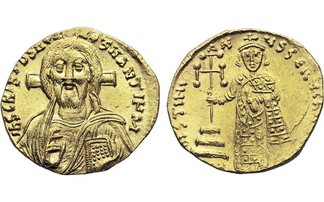 12 Days of Christmas: Byzantine gold coins first to show Jesus Christ