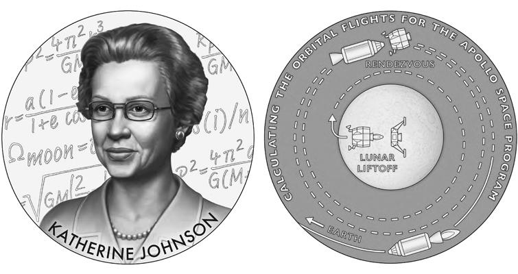 Katherine Johnson medal