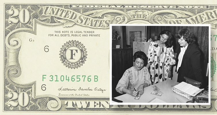kay-ortega-signs-20-dollar-federal-reserve-note-with-beth-deisher