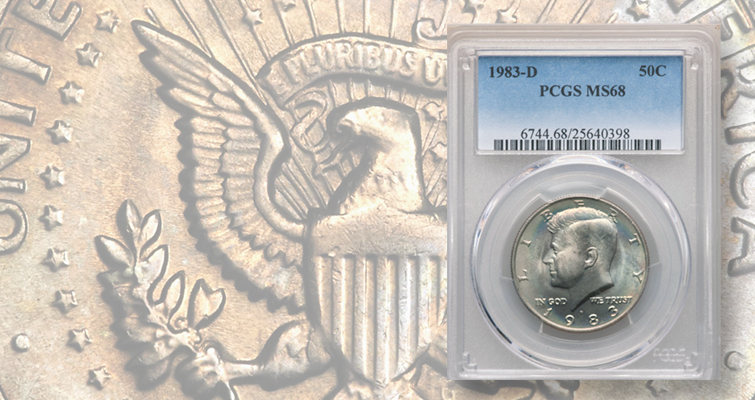 Why a recently sold Kennedy half dollar is a registry set collector's dream coin