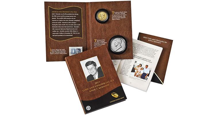 United States Mint close to reaching maximum sales of 50,000 John F. Kennedy Coin and Chronicles sets