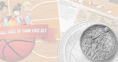 Basketball Hall of Fame kids set