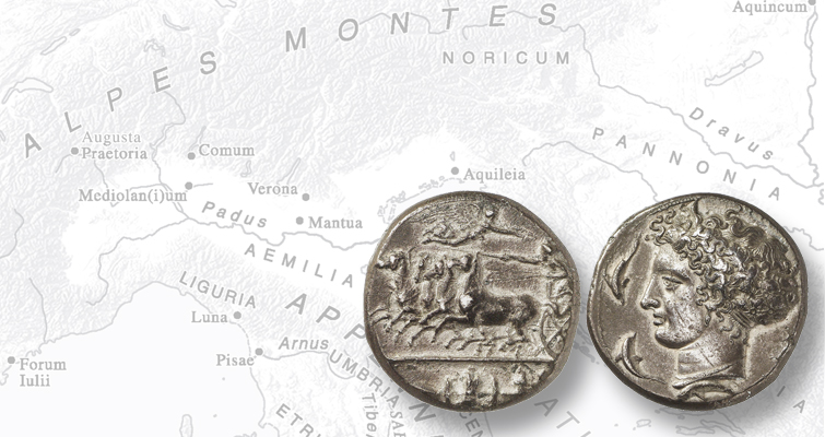 Ancient coin's six-figure price rooted in its standard-bearing design