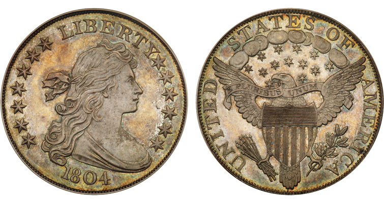 1804 dollar from King of Siam set