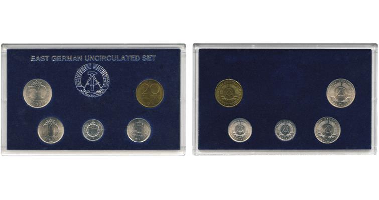 last-east-german-coins-cased-set-together