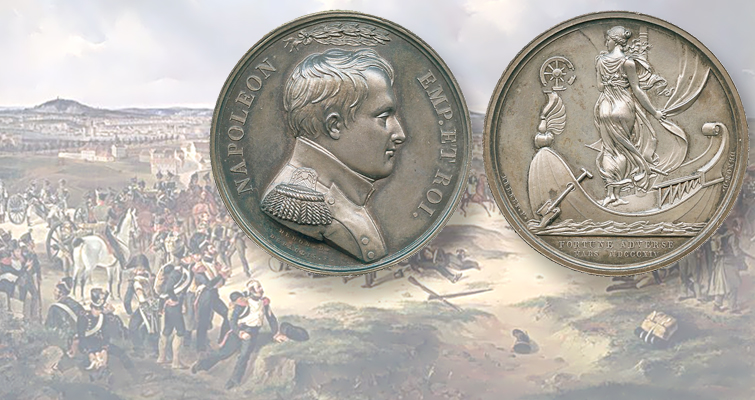 Napoleonic medal for defeat in Paris realizes $3,044 in Baldwin's June 23 auction