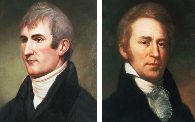 Lewis And Clark Painting Lewis And William Clark