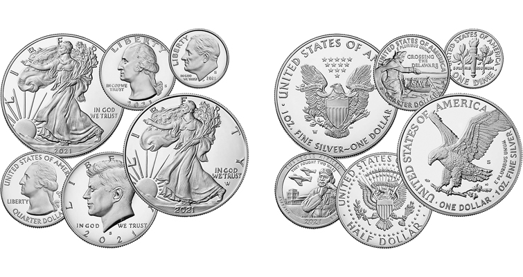 Limited Edition Silver Proof Set 2021