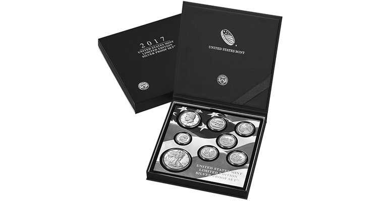 Limited-edition Silver Proof set packaging