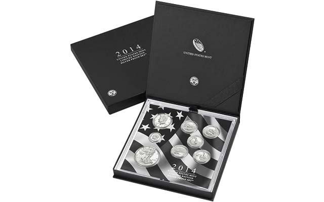 U.S. Mint to offer 2014 Limited Edition Silver Proof set beginning noon ET March 17