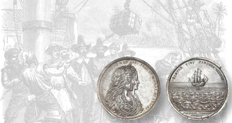 Relic medal in Sedwick auction uses salvaged silver from Concepción shipwreck