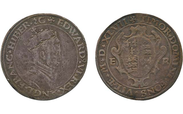 English shilling pattern highlights Baldwin's May 5 auction