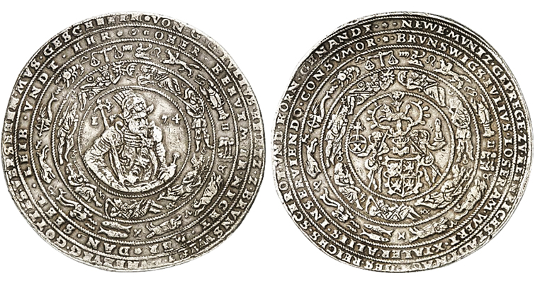 lot-2-brunswick-wolf-1574-silver-5-reichsthaler