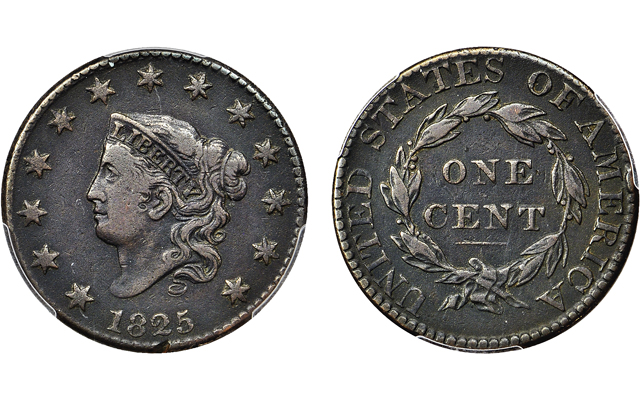 Twin Leaf Collection of large cents to cross auction block in July