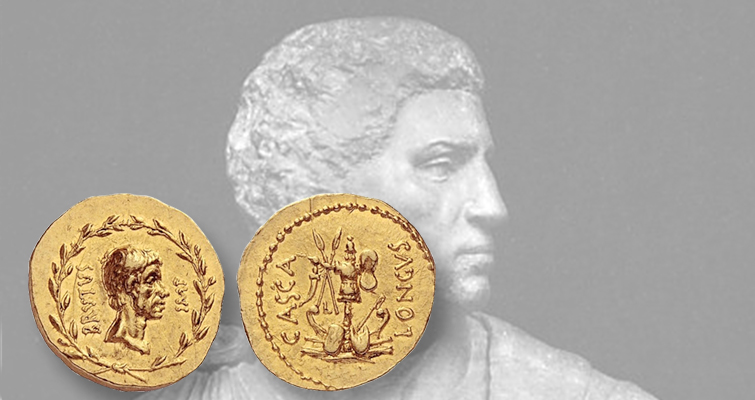 Auction offers Gasvoda's ancient coins of 12 Caesars