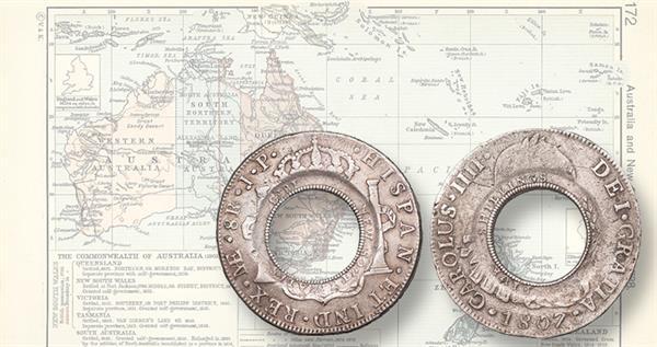 lot-411-holey-dollar-1807-silver-8-reales-carlos-iv-lead