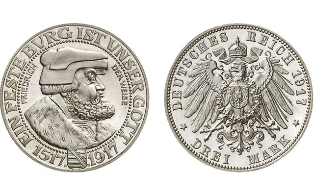 'Rarest silver coin of German Empire' offered in Künker sale