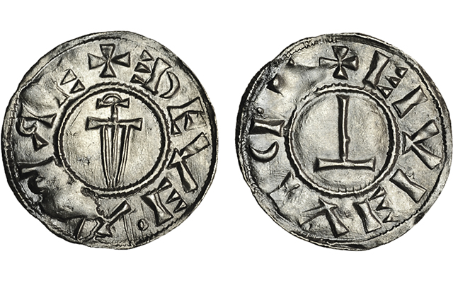 viking silver coin