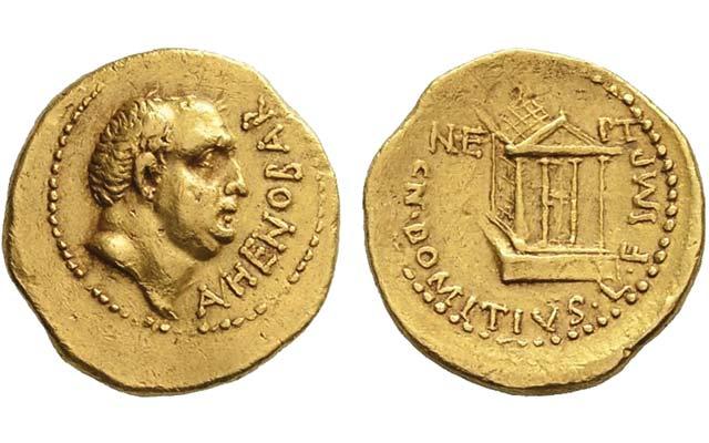 lot-509-gold-aureus-domitius-ahenobarbus