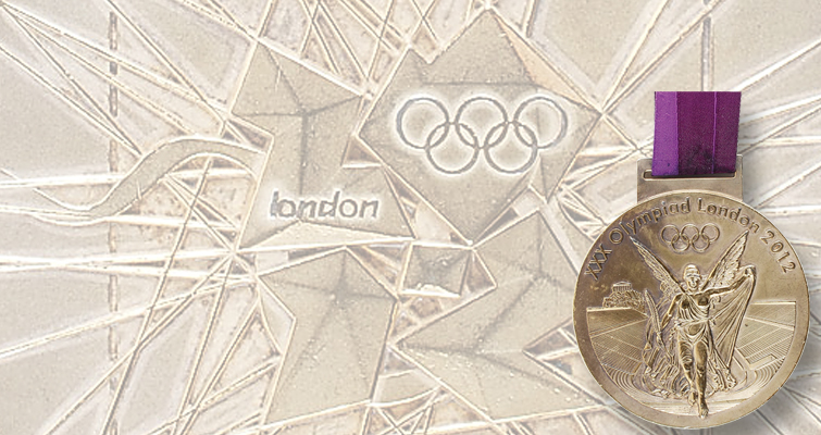 2012 London Summer Olympics gold medal expected to top $30,000 mark