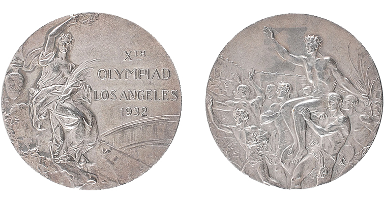 Lot 982 silver 1932 Los Angeles merged