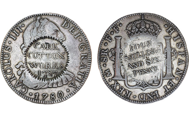 Spanish colonial 'silver dollar' from Mexico an artifact of Britain's Industrial Revolution
