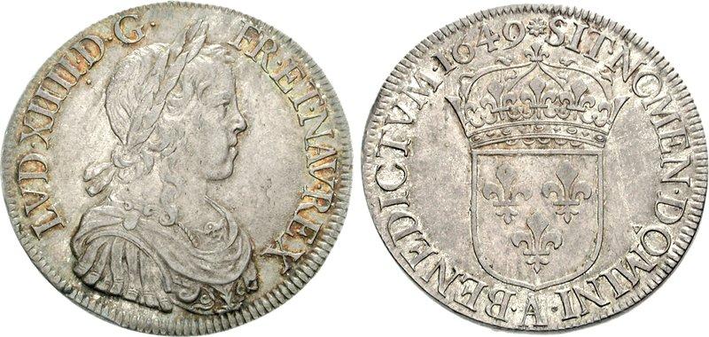 Louis_XIV_écu_1649_77001401
