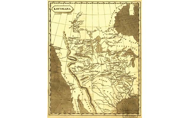 Samuel Lewis 1804 Map Of Louisiana Was Created After The Louisiana Purchase But Before Explorers Lewis And Clark Traversed The New American Lands